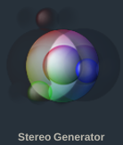 Stereo Generator Icon